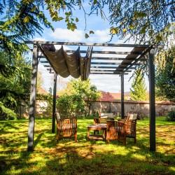 Bâche pour Pergola Provence + extension 3x6m